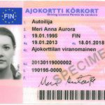 Finnish_driver's_licence,_front